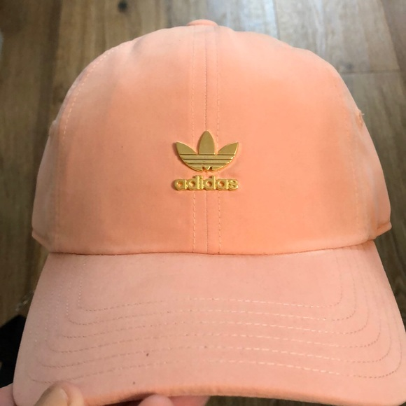 390e8d9fc4f adidas Originals Relaxed Metal Strapback hat